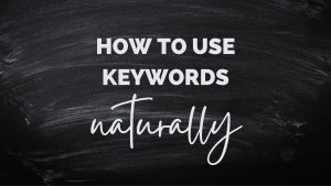 How to use amazon listings keywords naturally