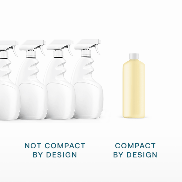 compact by design concentrated products