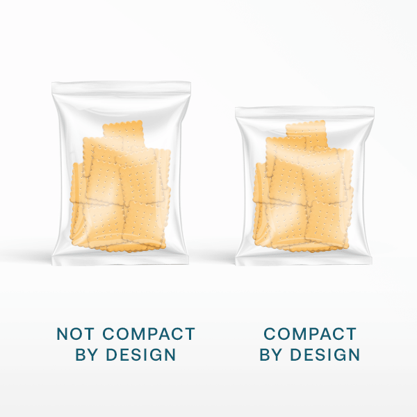 compact by design less air