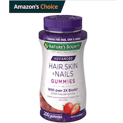 Amazon's Choice Badge example for vitamin gummies