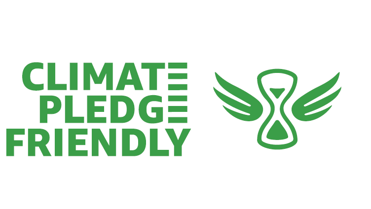 Climate pledge friendly bagde